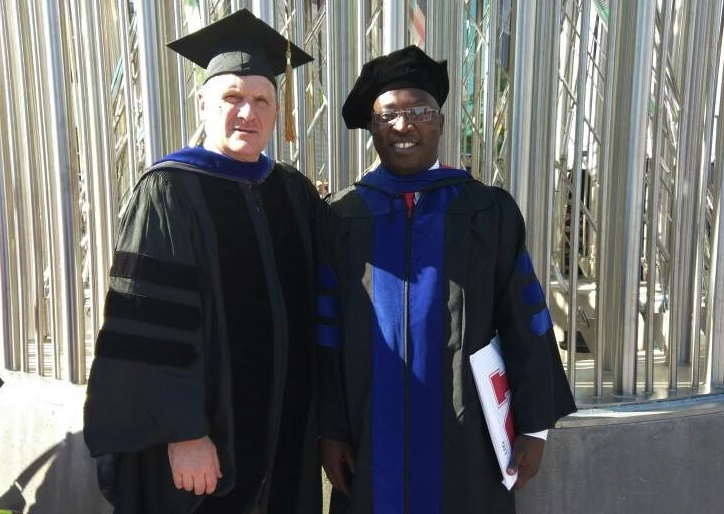 International BHEARD Scholar Robert Mugabi with adviser Curt Weller University of Nebraska Lincoln Department of Food Science