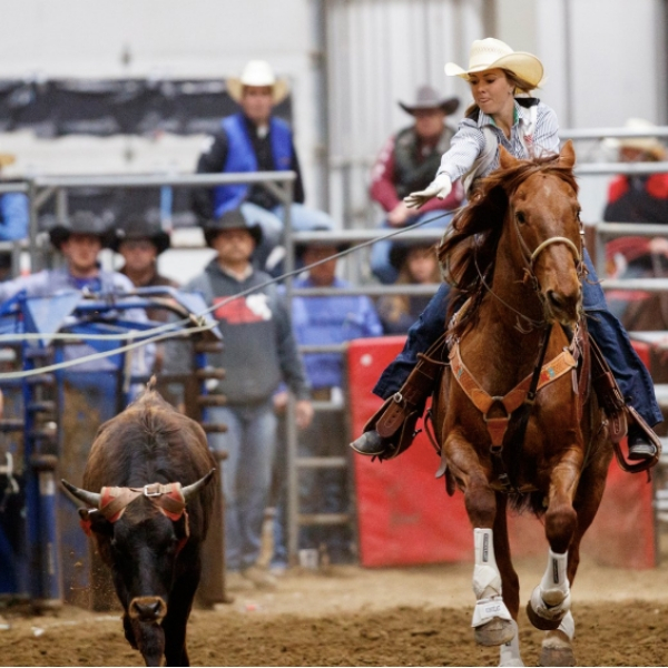 Join @UNLRodeo for the 61st Annual UNL Rodeo on April 26-27 at the Lancaster Event Center! On April 26, students get in for $5 for their student ID. Learn more