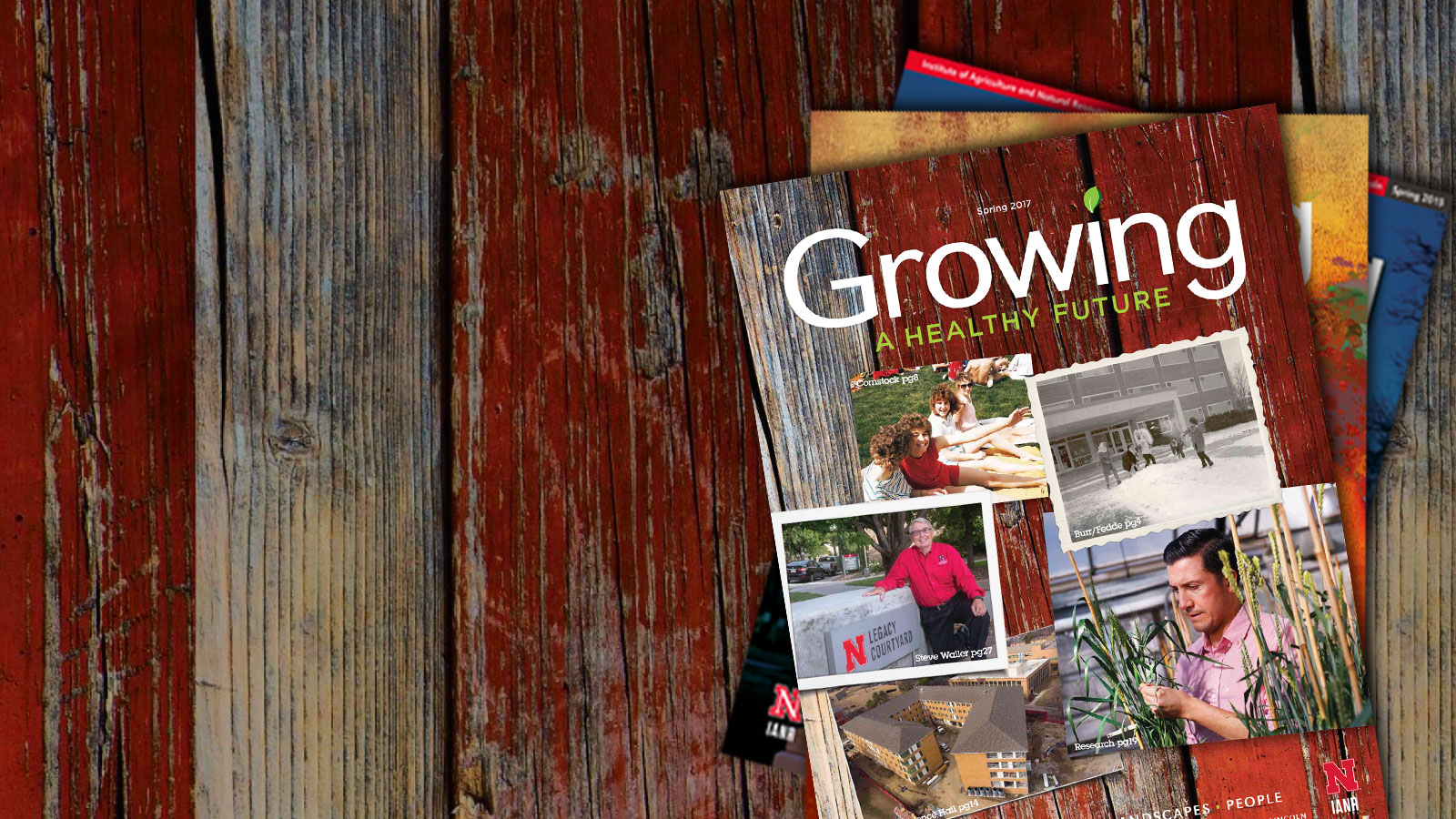 IANR Growing Magazine Issues