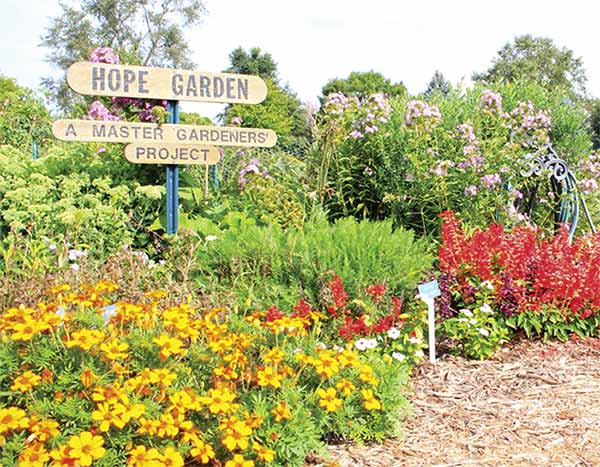 Action in the metro: Extension service garden providing HOPE for the ...