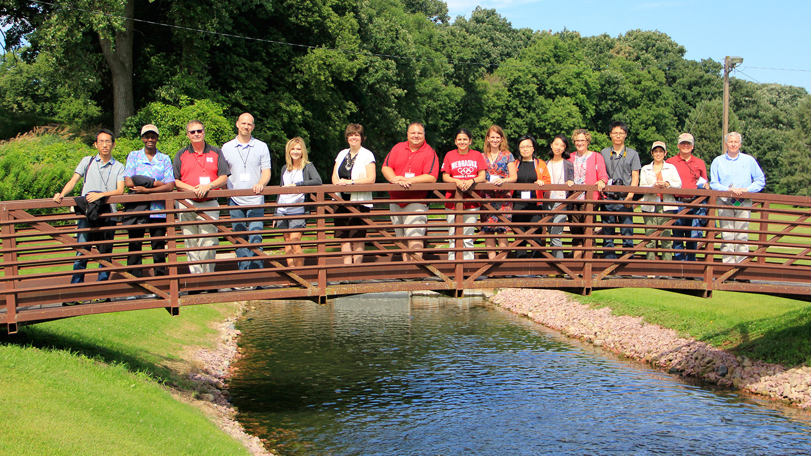 Group from the 2015 Roads Scholar Tour