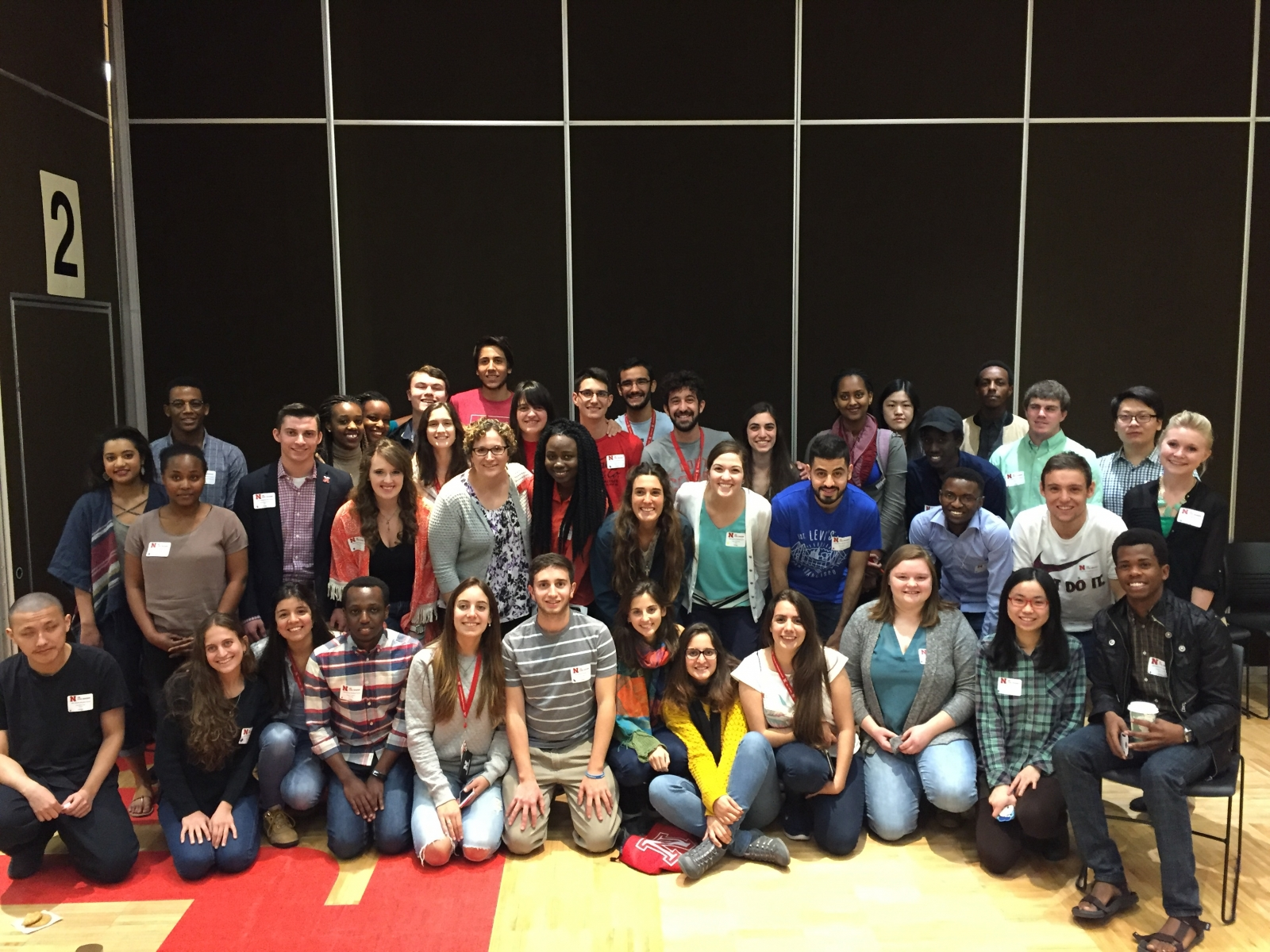 The international and domestic group consisted of American, Argentine, Rwandan and Chinese students at the University of Nebraska