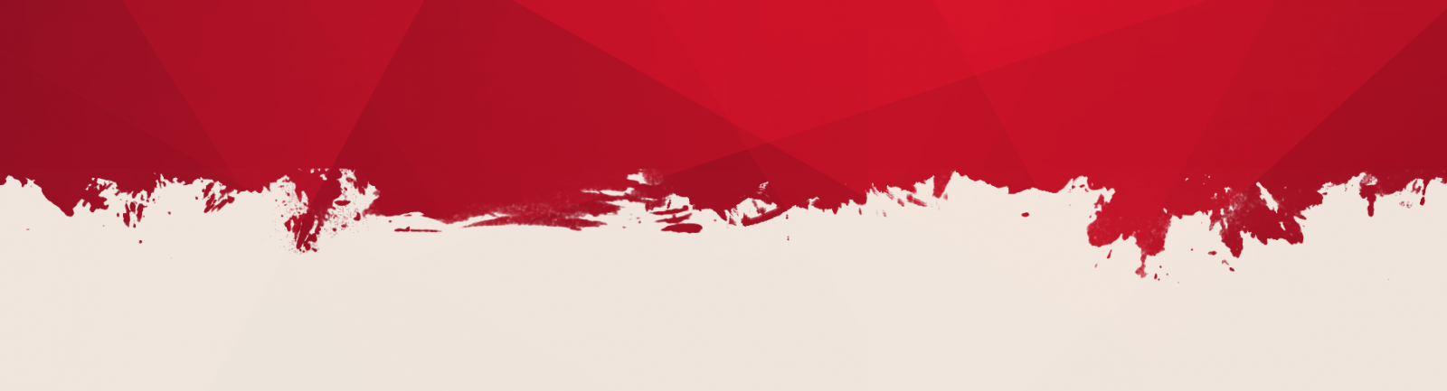 Red and white graphic