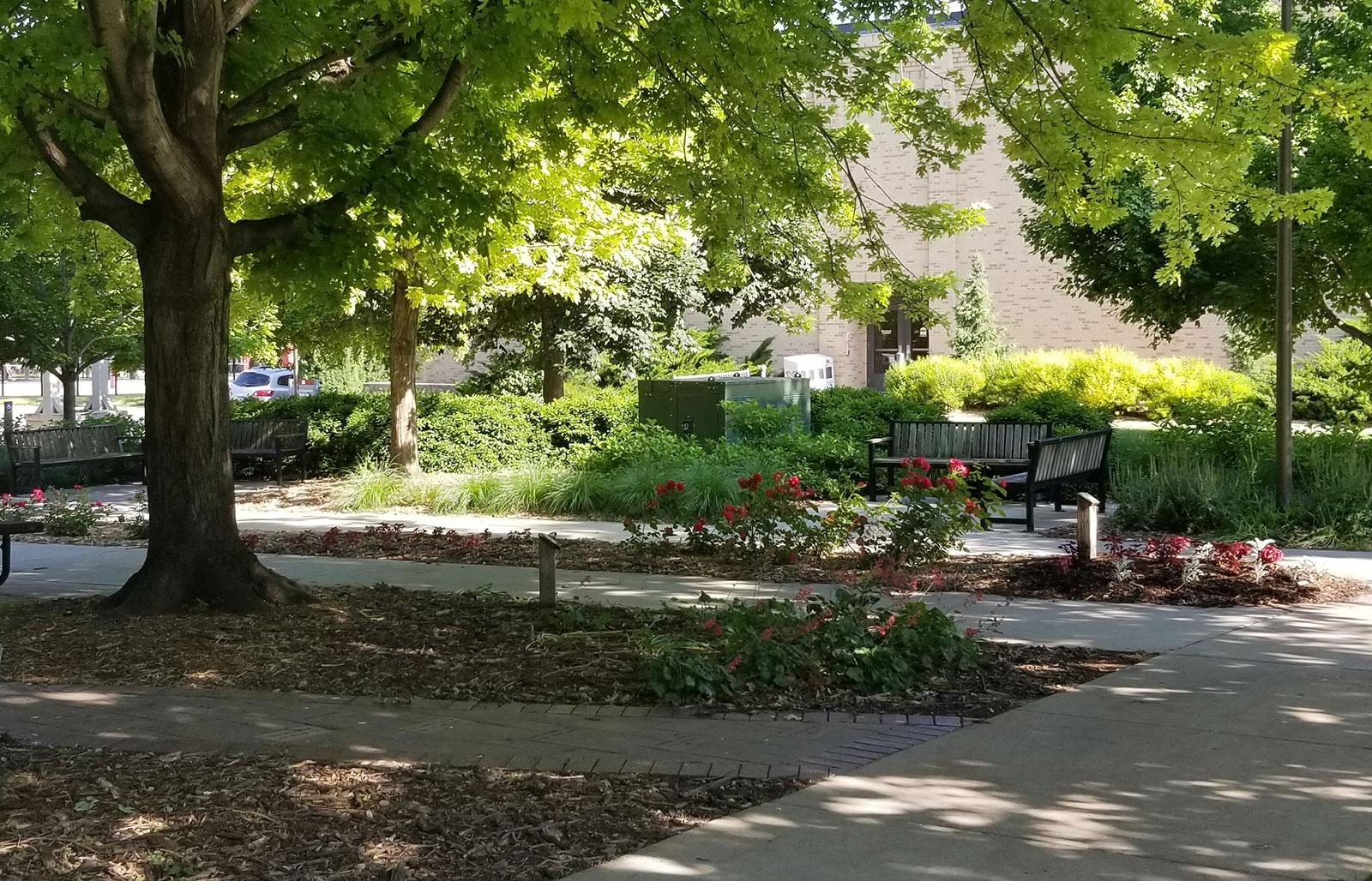 IANR East Campus Courtyard