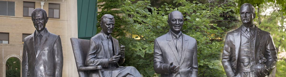East Campus Secretary of Agriculture Statues